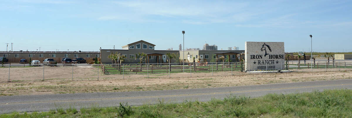 The Iron Horse Ranch west of Odessa, near Interstate 20 and FM 866.