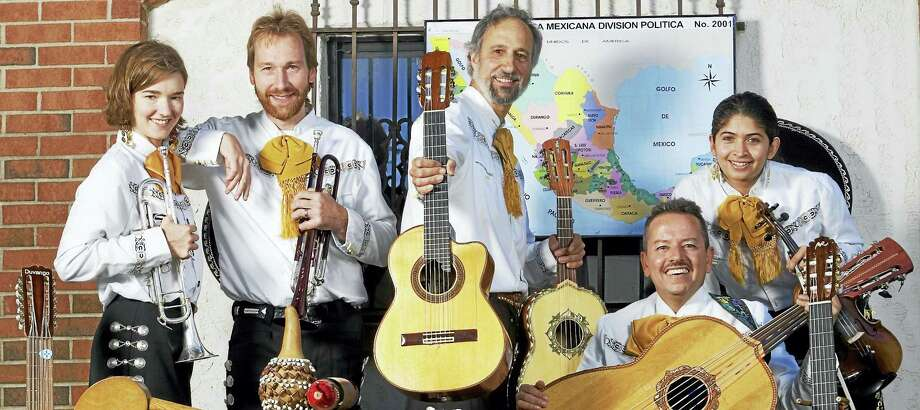Fiesta del Norte will get the party started for the Branford Folk Music Society's slate of concerts for 2016 on Saturday night. Photo: Contributed Photo