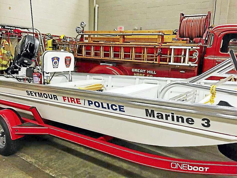 Seymour's new rescue boat. Photo: Contributed Photo
