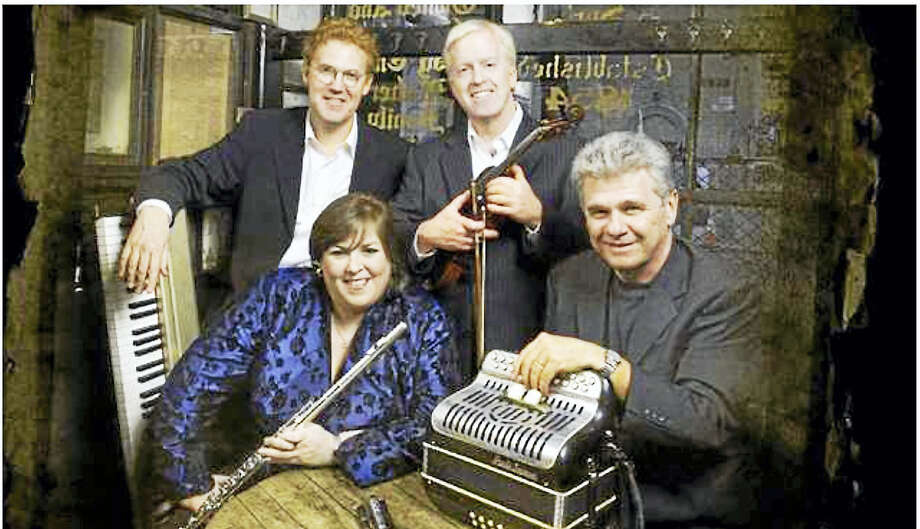 Contributed photoThe Pride of New York will present a concert of Irish traditional music at 7:30 p.m. Jan. 16 at the Irish American Community Center, 9 Venice Place, East Haven. Performers are Joanie Madden, on flute and tin whistle; Brian Conway, fiddle; Billy McComiskey, button accordion and Brendan Dolan, keyboard. Tickets are $20 in advance, $25 at door. Call John O'Donovan at 203-281-3563 or Pat Stratton at 860-664-1600. Photo: Journal Register Co.