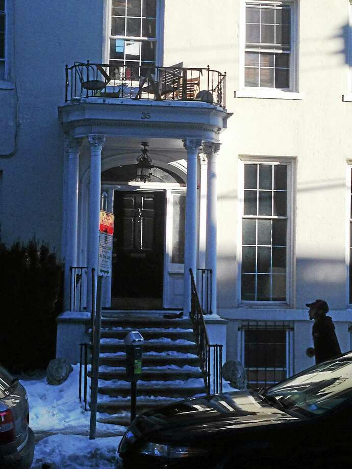 Sigma Alpha Epsilon house just off Yale's New Haven campus. Photo: New Haven Register File Photo