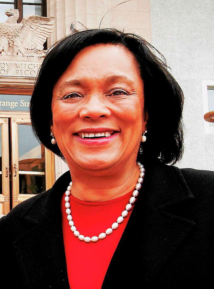 Mayor Toni Harp Photo: Journal Register Co.