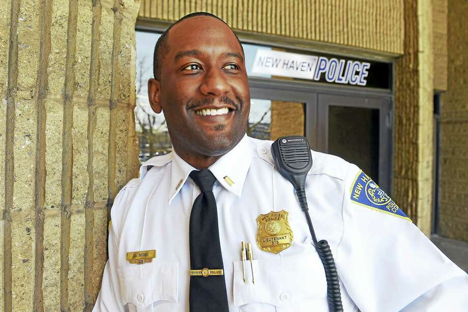New Haven Police Lt. Makiem Miller is retiring after serving 20-years in the New Haven Police Department and will take a job as a college campus police chief at the Belmont Abbey College in Belmont, NC. Photo: Peter Hvizdak - New Haven Register   / ©2016 Peter Hvizdak