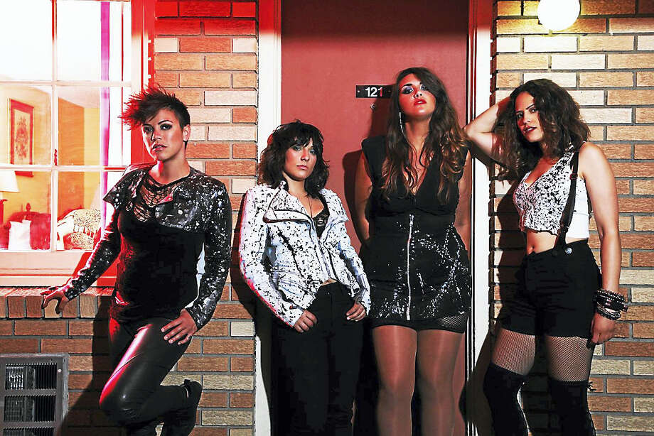 From left, Kiyomi McCloskey, Laura Petracca, Leanne Bowes and Lisa Bianco of Hunter Valentine. Photo: Contributed Photo