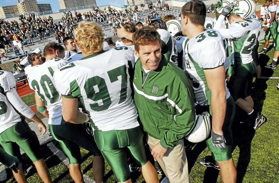 Dartmouth football coach Buddy Teevens, above, banned tackling at practices in 2010. In taking steps to implement a rule to ban tackling during all regular season practices, the Ivy League has taken the lead in attempting to make the game of football safer says Register columnist Chip Malafronte. Photo: The Associated Press File Photo   / AP