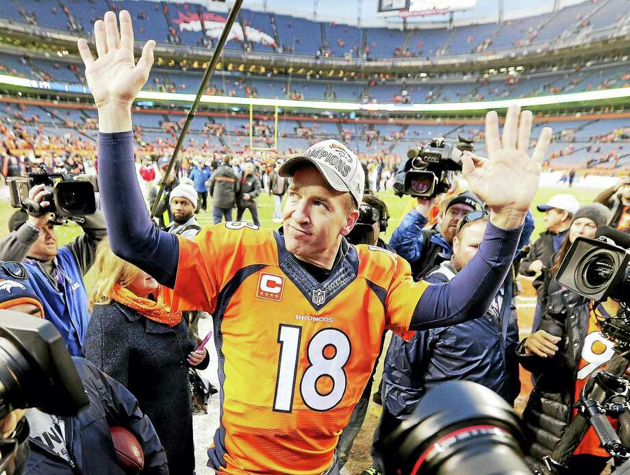 Super Bowl 50 could be the final game of Broncos quarterback Peyton Manning's career. Photo: The Associated Press File Photo   / AP