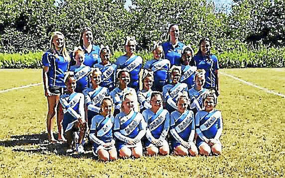 West Haven Seahawks cheerleaders in 2015, Photo: Contributed Photo