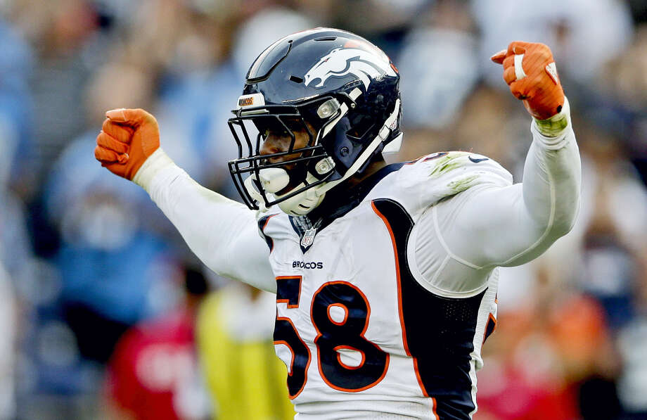 "Super Bowl MVP Von Miller will be a contestant on ABC'S upcoming season of ""Dancing with the Stars."" Photo: The Associated Press File Photo   / AP"