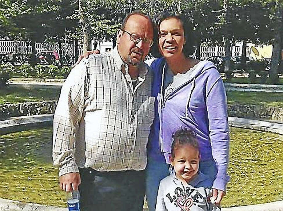 Arnold Giammarco with his wife, Sharon, and daughter, Blair Photo: Courtesy Of Yale Law School