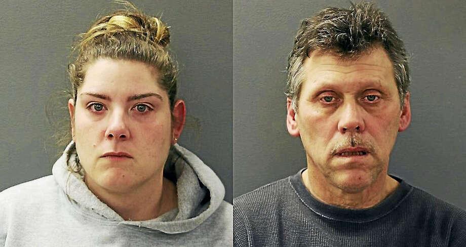 Lucia Piscitello and William Healy Photo: Courtesy Of Hamden Police Department