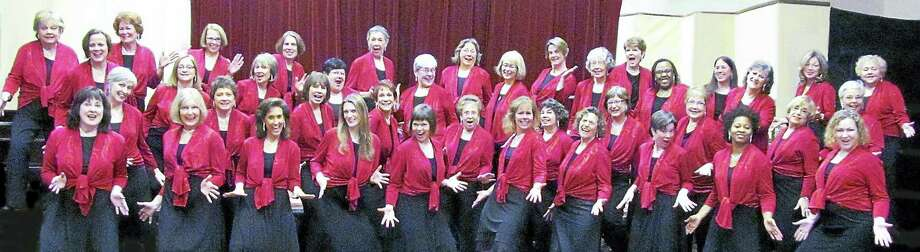 Submitted photoWest Haven: Silk 'n Sounds women's harmony chorus will present a concert to benefit the West Haven Library at 4 p.m. March 5 at the First Congregational Church, 1 Church St. Tickets are $20 in advance, $25 at the door. Contact westhavenlibrary.org, go to the three libraries, or call 203-937-4233. Snow date is March 6. Photo: Journal Register Co.