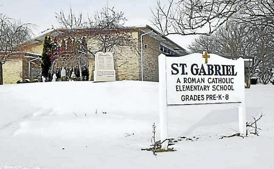 St. Gabriel School in Milford. Photo: ARNOLD GOLD — NEW HAVEN REGISTER