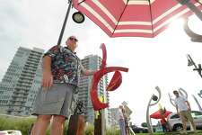 The Stamford Arts Festival at Harbor Point waterfront returns Saturday, July 29, and Sunday, July 30. Last year, visitors saw the work of more than 100 vendors. This year, 125 are participating.