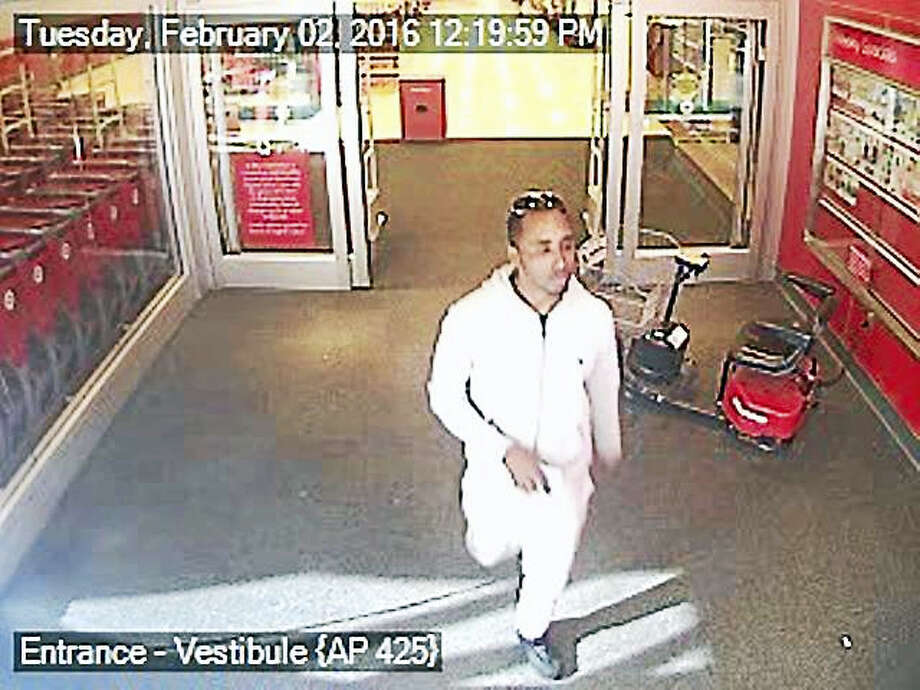 North Branford police are looking for two people who allegedly used a stolen credit card multiple times at stores in West Haven and Trumbull. Photo: Courtesy Of North Branford Police Department