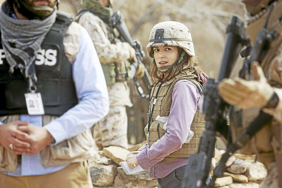 """Tina Fey plays Kim Baker in """"Whiskey Tango Foxtrot."""" Photo: Frank Masi — Paramount Pictures   / © 2015 Paramount Pictures. All Rights Reserved."""
