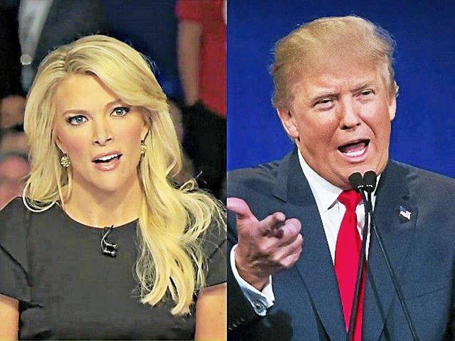 Kelly and Trump Photo: AP Photo Via Fox News