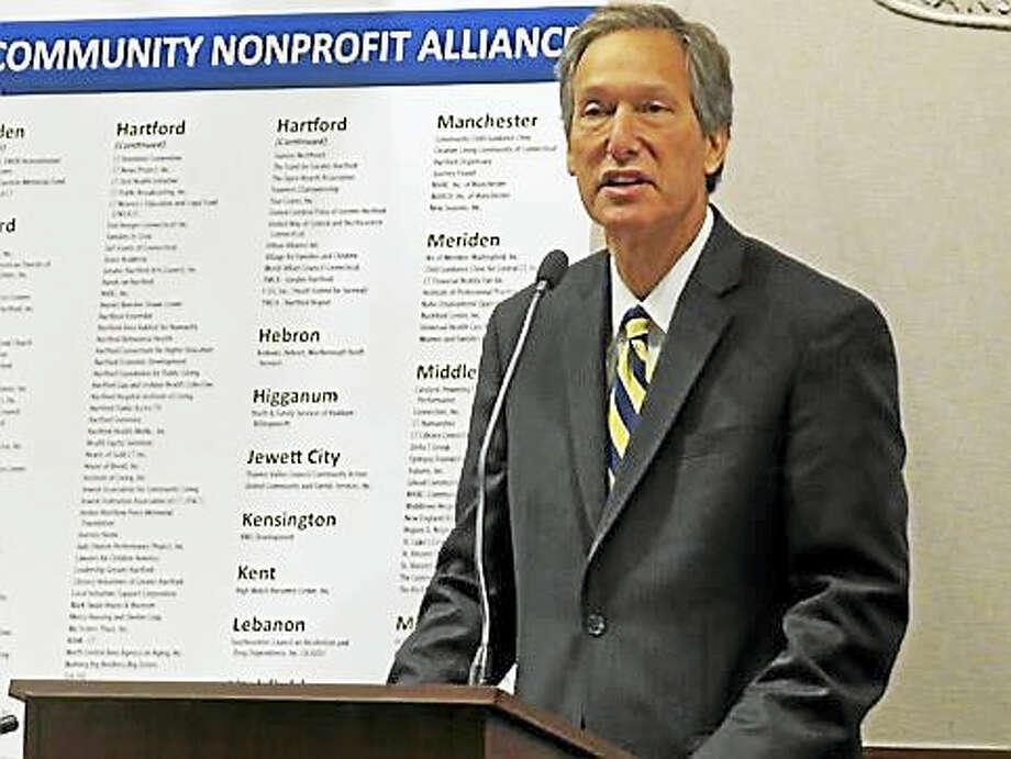 Jeffrey Walter, interim CEO of the CT Community Nonprofit Alliance Photo: ROWAN KANE/CT NEWS JUNKIE
