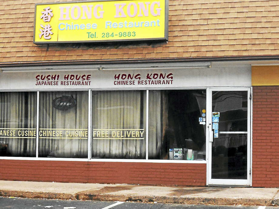 A fire early Wednesday morning did extensive damage to the Hong Kong Chinese Restaurant on East Center Street in Wallingford. No one was hurt, but the restaurant will have to be closed for repairs. Photo: Wes Duplantier — New Haven Register