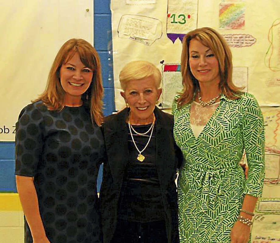 From left, Nicole Klarides-Ditria, her mother, Theodora Klarides, and sister Themis Klarides. Photo: CONTRIBUTED PHOTO