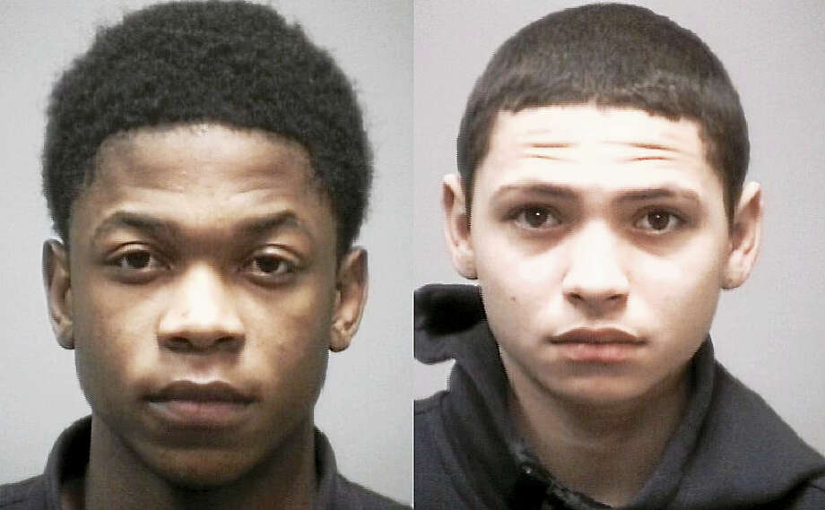 Michael Hunter and Alejandro Leon Photo: Photos Courtesy Of The New Haven Police Department