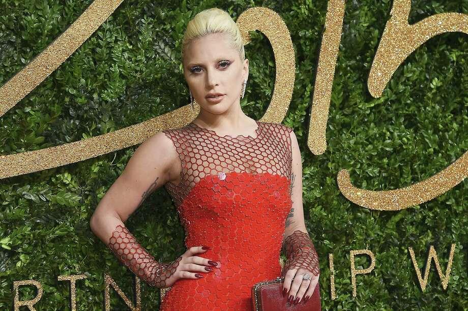 Lady Gaga will sing national anthem at this year's Super Bowl in Santa Clara, Calif. Photo: The Associated Press File Photo   / Invision