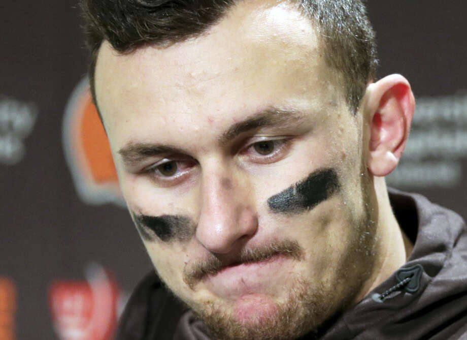 The Browns said in a statement on Tuesday that Johnny Manziel's troubles off the field have undermined his teammates and the organization. Photo: The Associated Press File Photo   / FR171040 AP