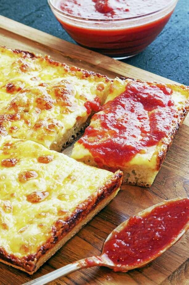 Detroit-Style Pizza. Photo: Goran Kosanovic — The Washington Post   / For The Washington Post