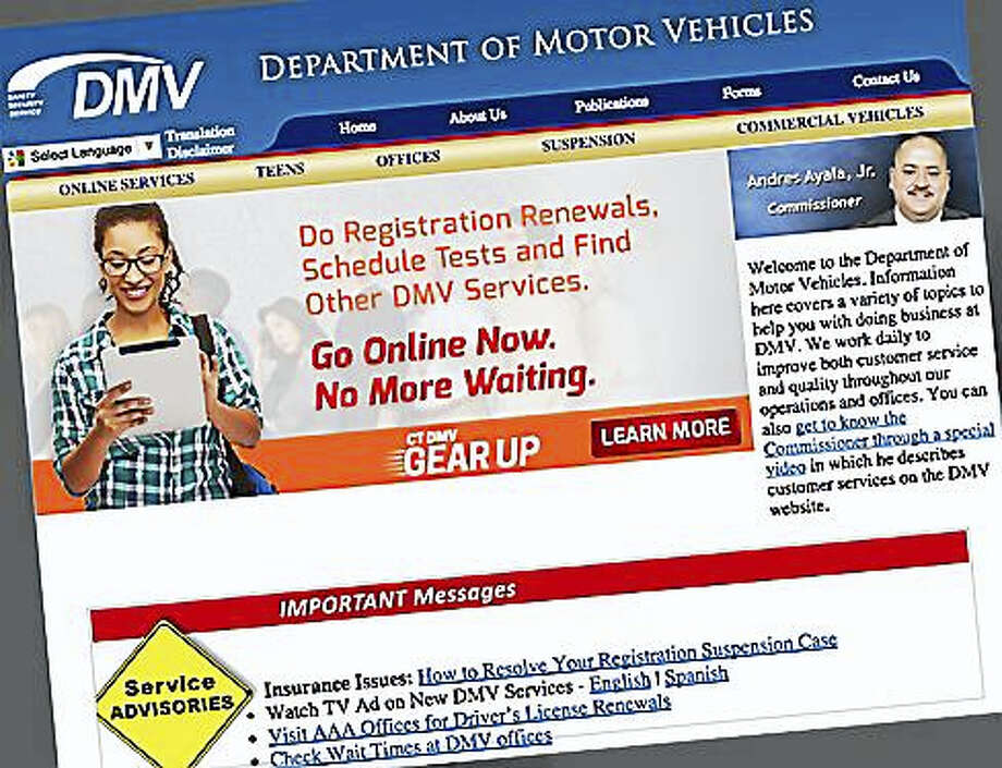 Photo: DMV Screengrab Via CT News Junkie