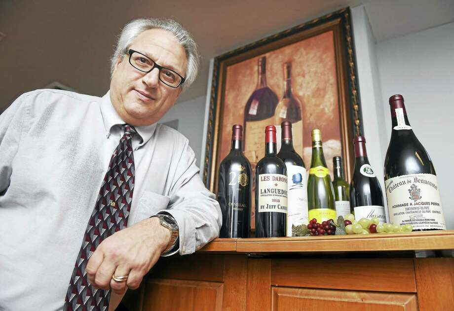 Wine director/general manager Joe Dolce photographed in the wine cellar of the Madison Wine Exchange on 1/30/2016. Photo: (Arnold Gold-New Haven Register)
