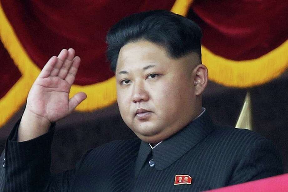 North Korean leader Kim Jong Un gestures as he watches a military parade in Pyongyang, North Korea, in 2015. Photo: Wong Maye-E — The Associated Press   / AP