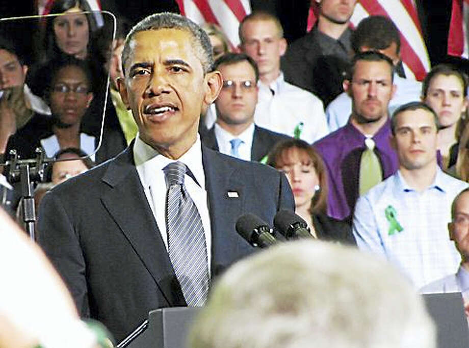President Obama Photo: Photo By Hugh McQuaid, Courtesy Of CTNJ