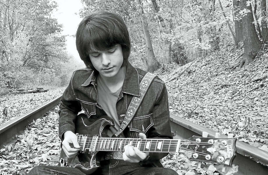 Mike Lefton, a fan of the Beatles since childhood, will play in Milford Saturday. Photo: Contributed