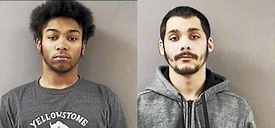 Left to right: Troy Clemons and Mario Rodriguez Photo: Wallingford Police Department