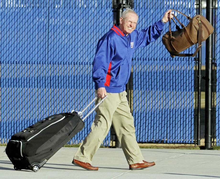 Tom Coughlin, who returned the Giants to NFL prominence by winning two Super Bowls, resigned on Monday after missing the playoffs for the fourth consecutive year. Photo: The Associated Press File Photo   / FR51951 AP