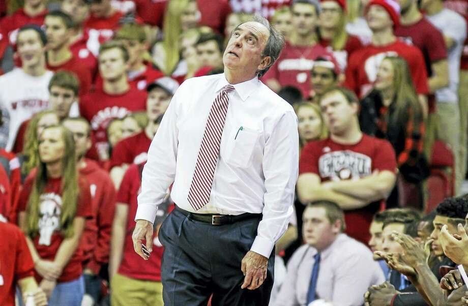 Coach Fran Dunphy and Temple will face No. 23 UConn on Tuesday night at the XL Center in Hartford. Photo: The Associated Press File Photo   / FR19153 AP