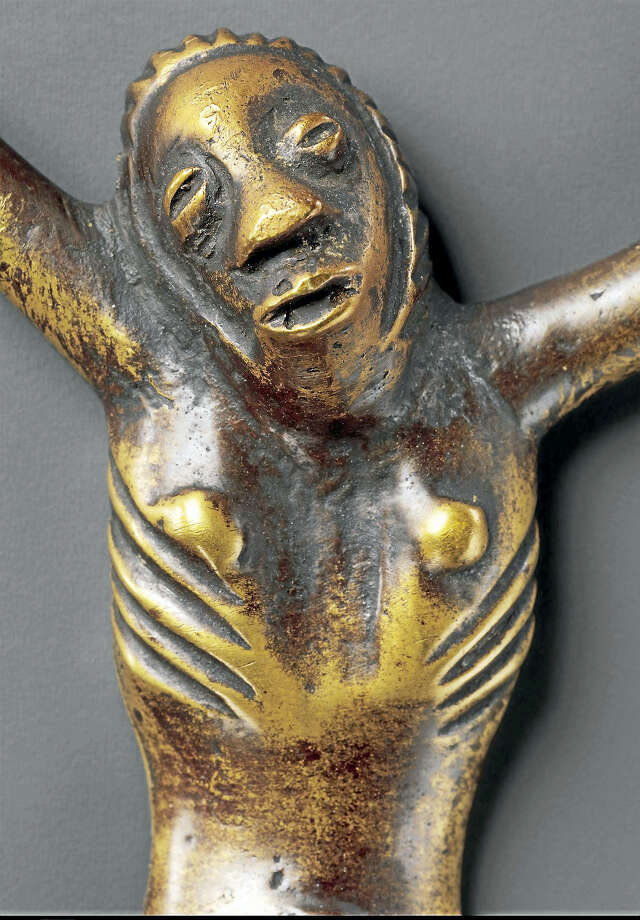A Kongo brass figure of Jesus made in the 18th or 19th century. THE METROPOLITAN MUSEUM OF ART Photo: Handout / Handout
