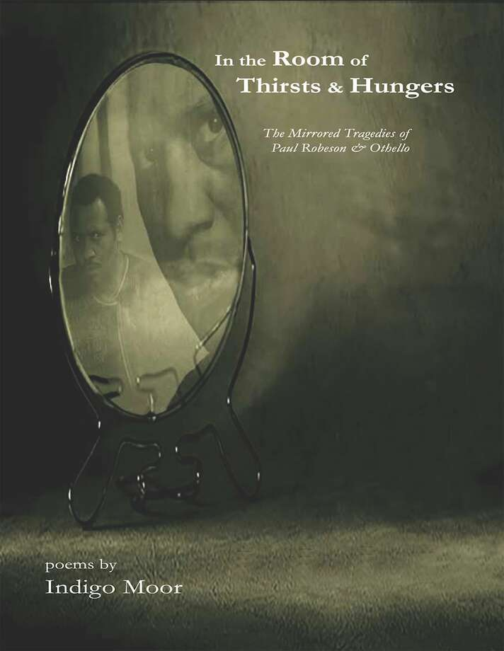 """Indigo Moor's new book of poems, """"In the Room of Thirsts and Hungers."""" Photo: Courtesy Of Indigo Moor"""