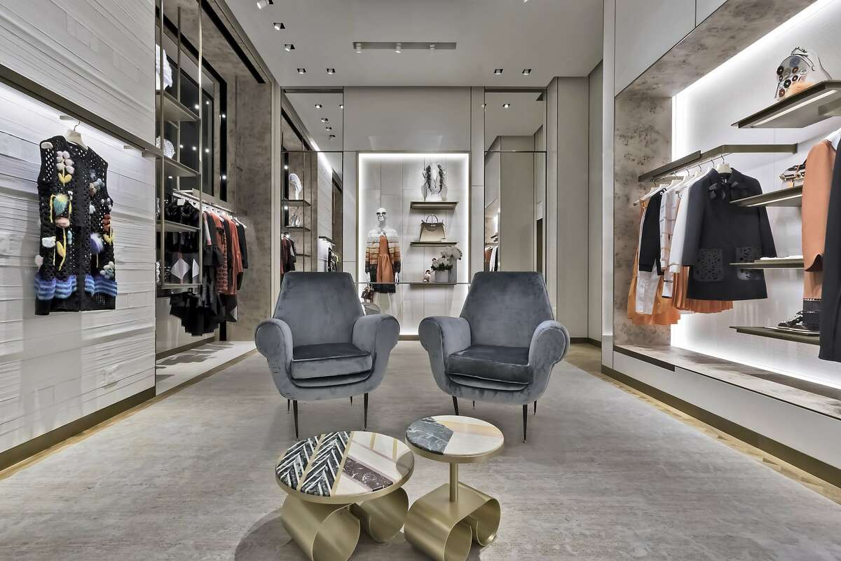 The Italian fashion house Fendi has opened a boutique at 201 Post St., in part of the former Prada space. The two-story space carries men�s and women�s ready-to-wear, fur, handbags, shoes and accessories collections designed by Karl Lagerfeld and Silvia Venturini Fendi.