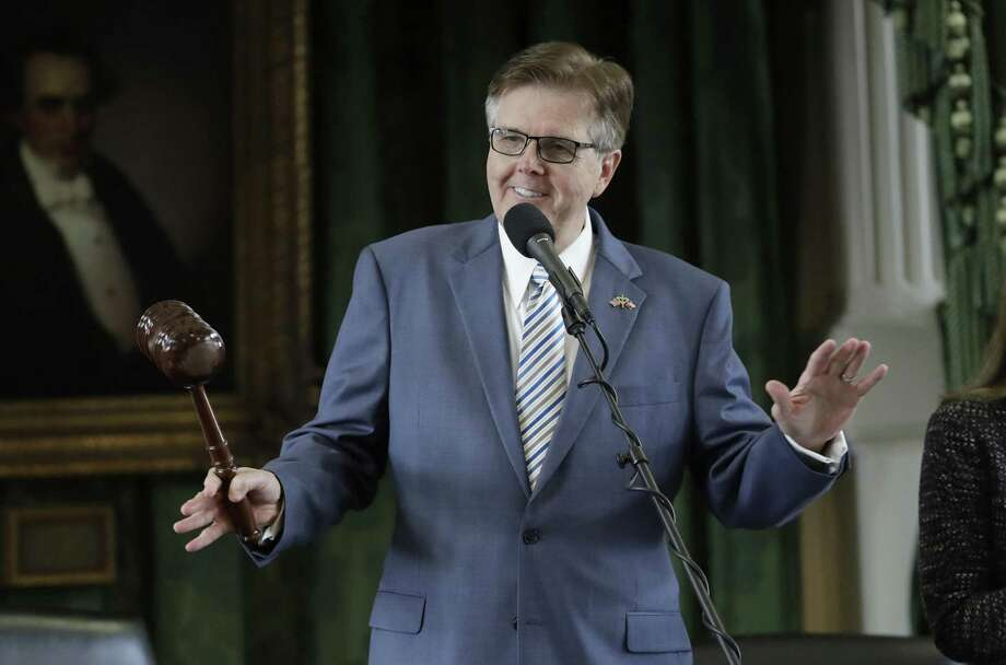 "Lt. Gov. Dan Patrick recently characterized U.S. cities as the source of ""all"" problems because they are governed by Democratic mayors and city councils. Photo: Eric Gay /Associated Press / The Advocate"
