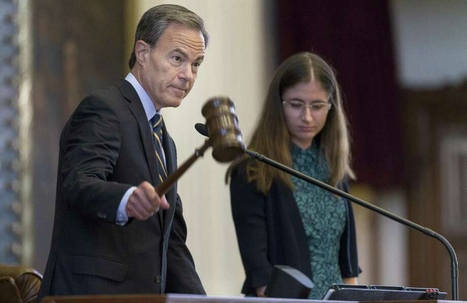 Texas Speaker of the House Joe Straus, R-San Antonio, is calling for the removal of a Confederate plaque in Austin.See where Confederate monuments are around America up ahead. Photo: Stephen Spillman /For The Express-News / stephenspillman@me.com Stephen Spillman