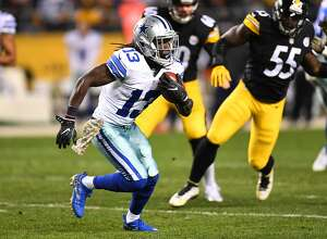 PITTSBURGH, PA - NOVEMBER 13:  Lucky Whitehead #13 of the Dallas Cowboys in action during the game against the Pittsburgh Steelers at Heinz Field on November 13, 2016 in Pittsburgh, Pennsylvania. (Photo by Joe Sargent/Getty Images) *** Local Caption ***