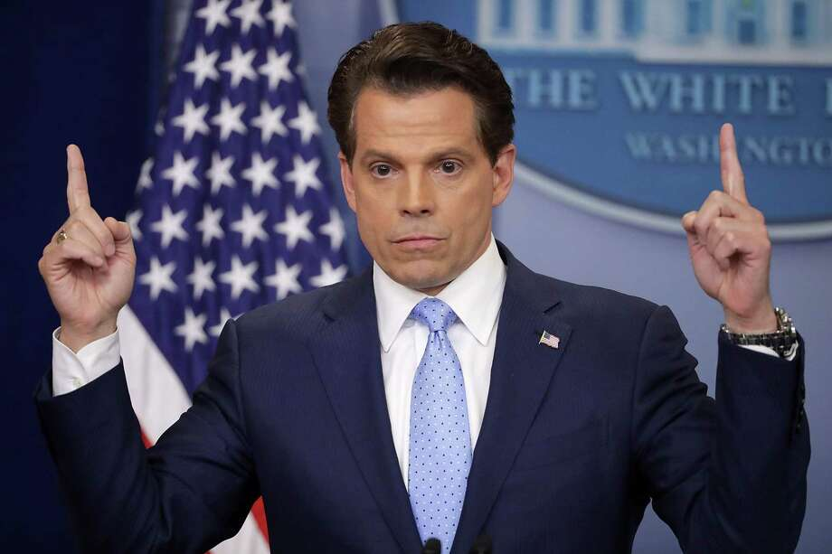 Anthony Scaramucci answers reporters' questions during the daily White House press briefing in the Brady Press Briefing Room at the White House July 21, 2017 in Washington, D.C. Photo: Chip Somodevilla / Getty Images / The Advocate