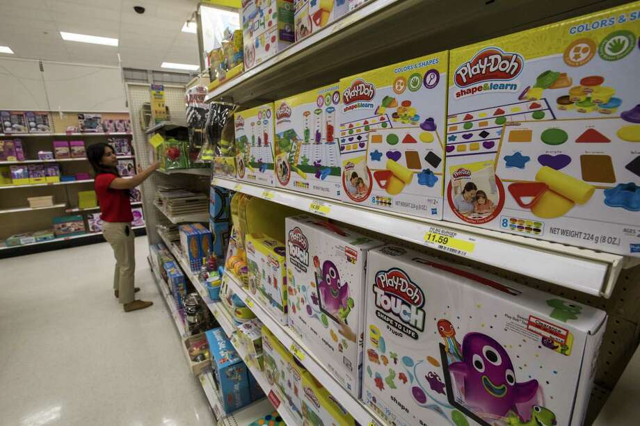 While Hasbro Inc.'s second-quarter profit jumped 30 percent — thanks to rising sales of the company's so-called franchise products Transformers action figures and Monopoly board games — its revenue was slightly lower than what Wall Street analysts expected. Shares fell the most in 21 months. Photo: David Paul Morris /Bloomberg / © 2017 Bloomberg Finance LP