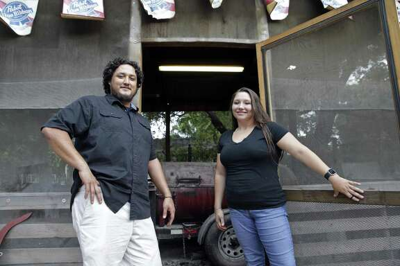 Emilio Soliz and Christi Soliz devote most of their time to Kings Hwy Brew and Q in the 5 Points area.