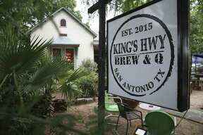 "Kings Hwy Brew & Q at 1012 N. Flores will be featured on a new Food Network show called ""Eat, Sleep, BBQ."""