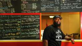 Lamonte Waits, owner of Boogie's BBQ in Missouri City, is a new member of the Greater Houston Black Chamber.