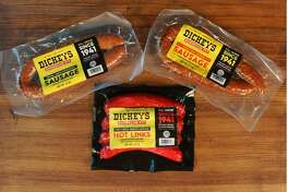 Dickey's Pit Barbecue sausage is now available at select Kroger stores in the Houston market.