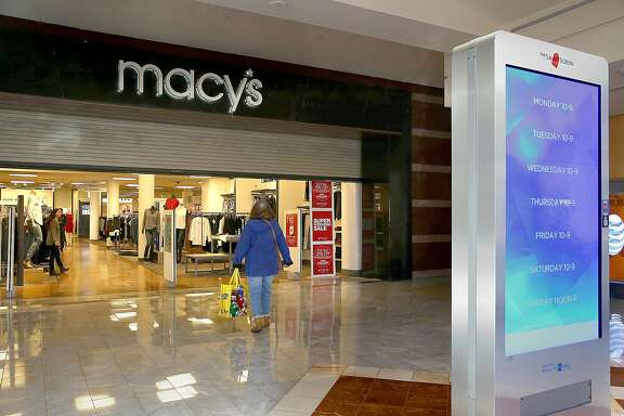 Macy's at Stonestown sold their space back to the mall and now lease the space on Friday, January 6, 2017 in San Francisco, Calif.