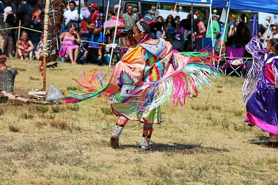 At the Hammonassett Festival, visitors can return to another time, when the Hammonasset Indians inhabited the area that is now Hammonasset Beach State Park in Madison. Drumming circles and traditional Native American dance will be part the fest. Photo: Contributed