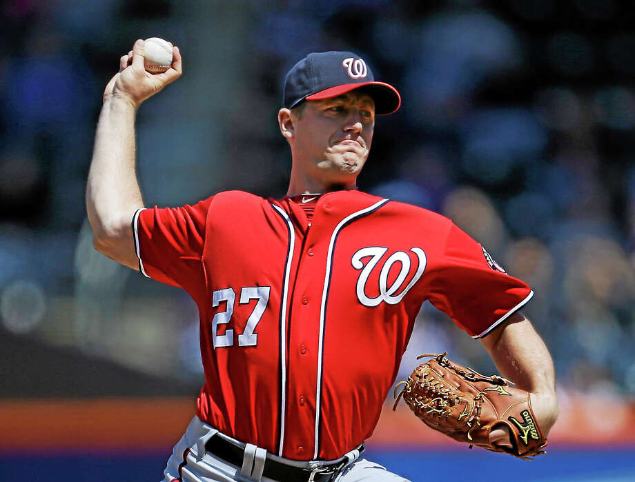 The Tigers signed former Nationals starter Jordan Zimmermann on Monday. Photo: Kathy Willens — The Associated Press File Photo   / AP